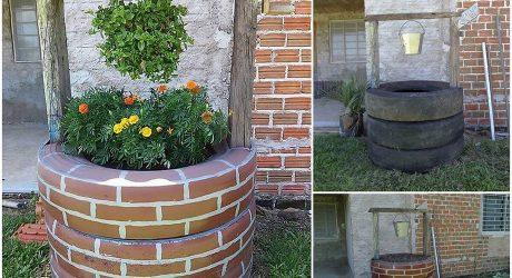 DIY แปลงดอกบ่อน้ำจำลอง