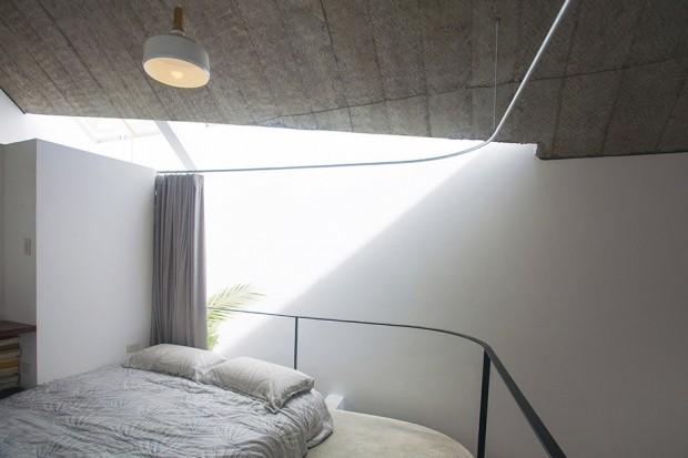 ห้องนอนรับแสงสว่างได้ง่าย