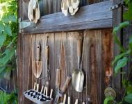 ที่เก็บเครื่องมือช่างในสวน