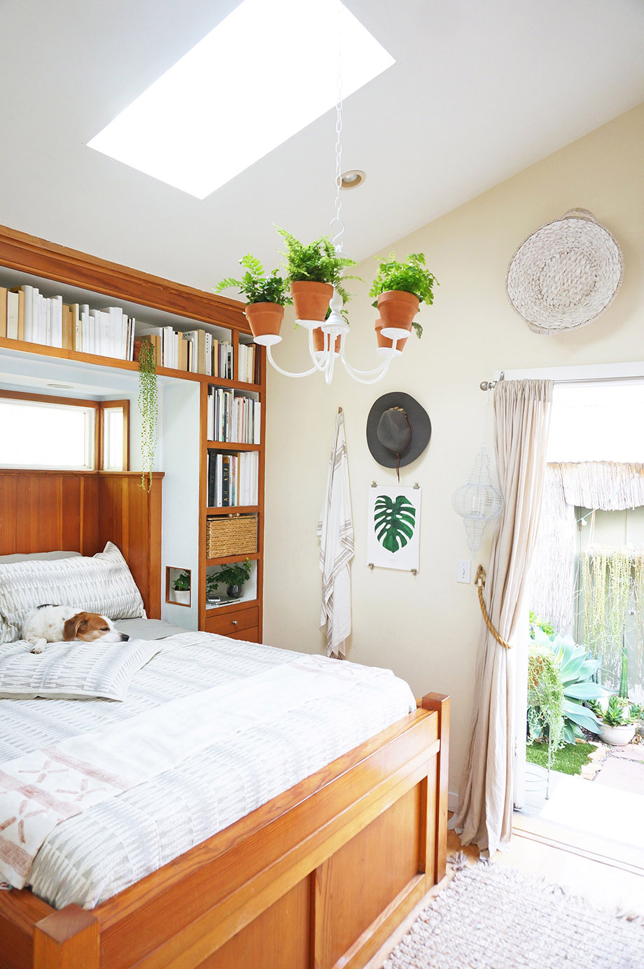 ห้องนอนบรรยากาศธรรมชาติ