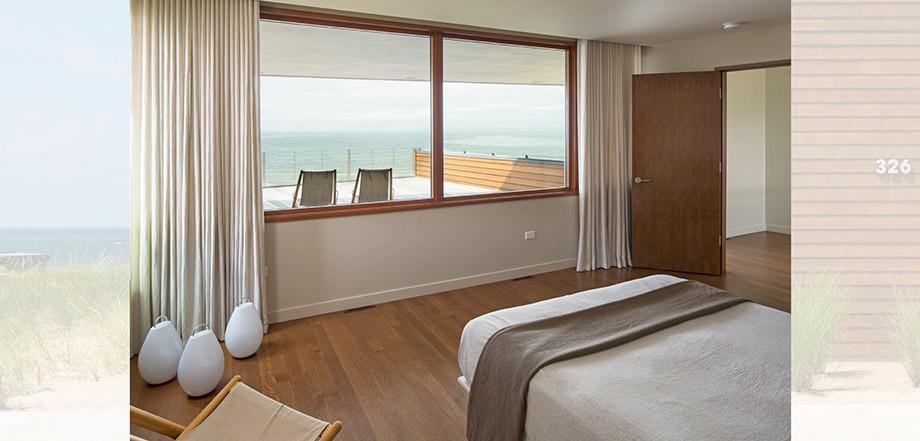 ชมวิวทะเลได้จากในห้องนอน