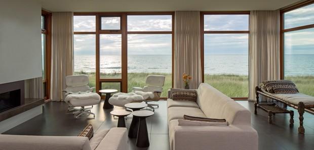 ห้องนั่งเล่นชมวิวทะเล