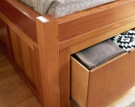 ตู้เก็บของใต้เตียง