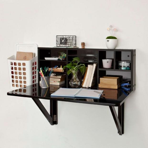 ตู้ซ่อนโต๊ะ ไอเดียประหยัดพื้นที่พับเก็บติดผนังได้ 171 บ้าน