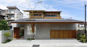 บ้านคอนกรีตแบบญี่ปุ่น