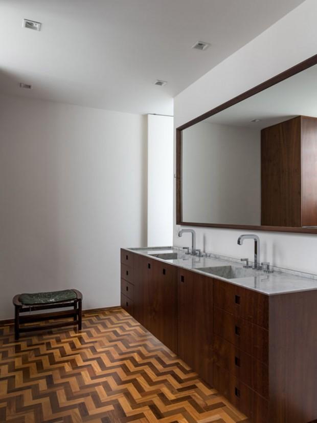 ห้องน้ำสไตล์ mid century