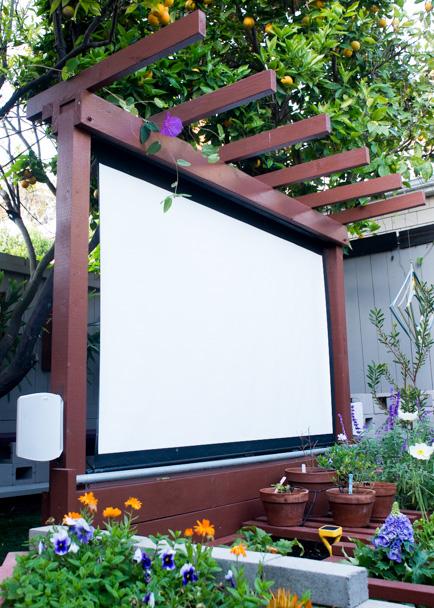 หนังกลางแปลงในสวน