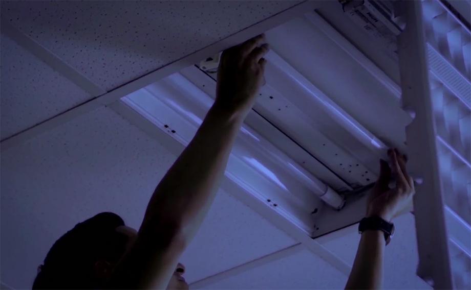 วิธีเปลี่ยนหลอดผอม เป็น LED