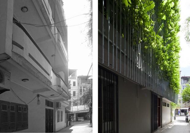 หน้าอาคาร before-After