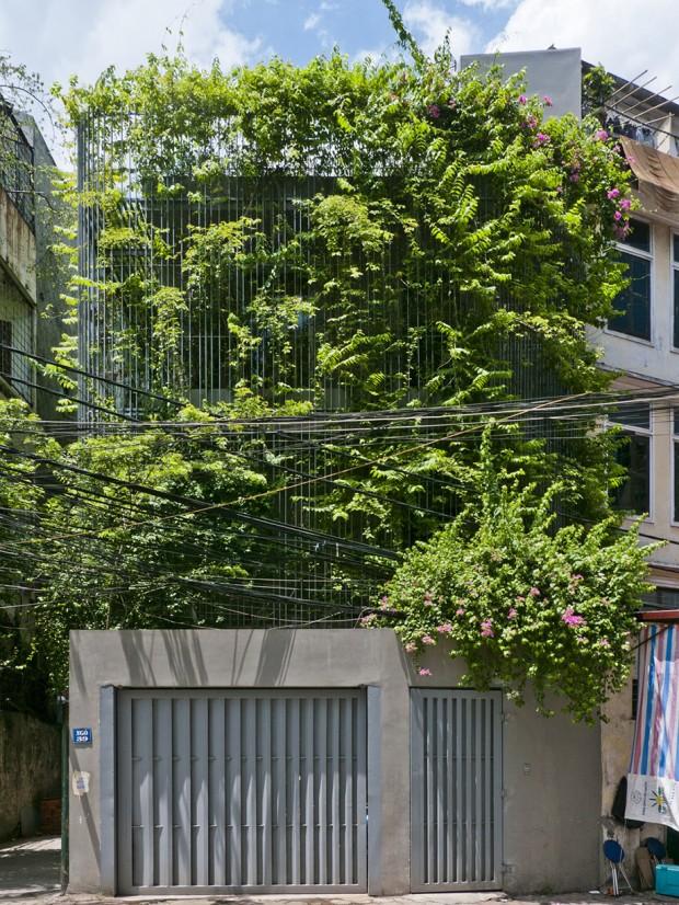 Facade ต้นไม้หน้าอาคาร