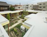 บ้านล้อมสวนอยู่ตรงกลาง