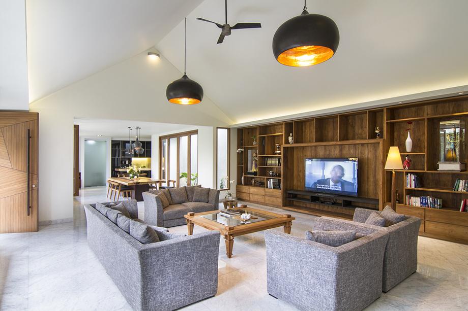 ห้องนั่งเล่น modern contemporary