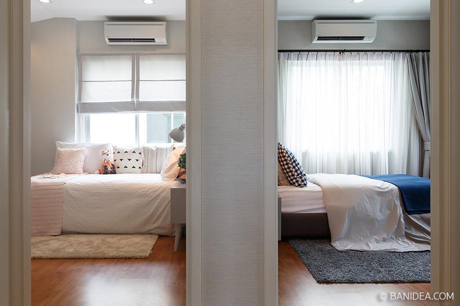 ห้องนอนเล็ก 2 ห้อง
