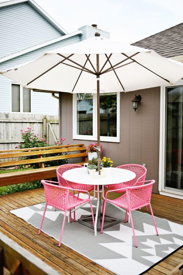 ชุดโต๊ะสนามนั่งเล่นในสวน