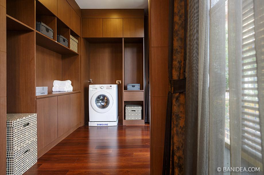 ห้องซักผ้า เชื่อมต่อกับระเบียงบ้าน