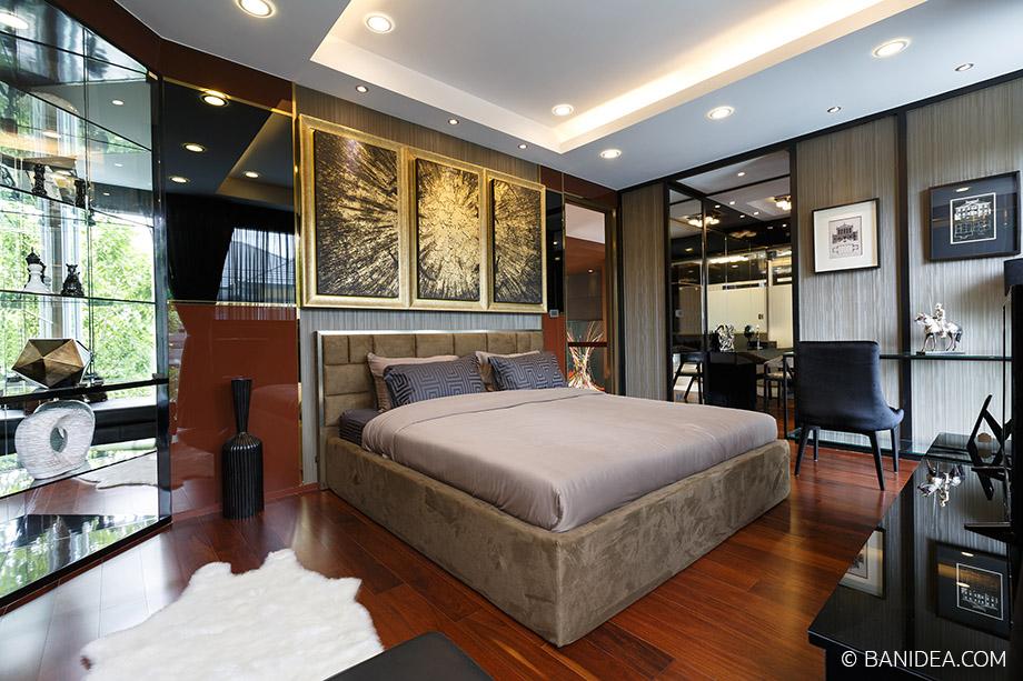 ห้องนอนชั้นสอง ตกแต่ง Luxury