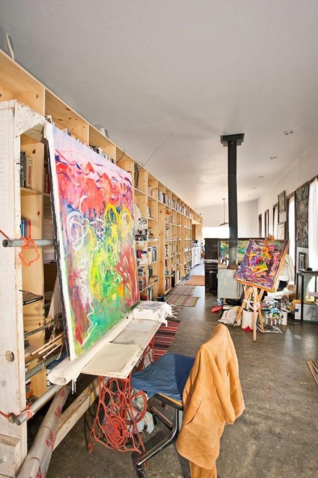 พื้นที่ทำงานศิลปะ