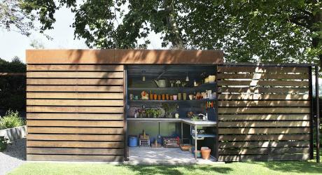 ห้องเก็บของในสวน