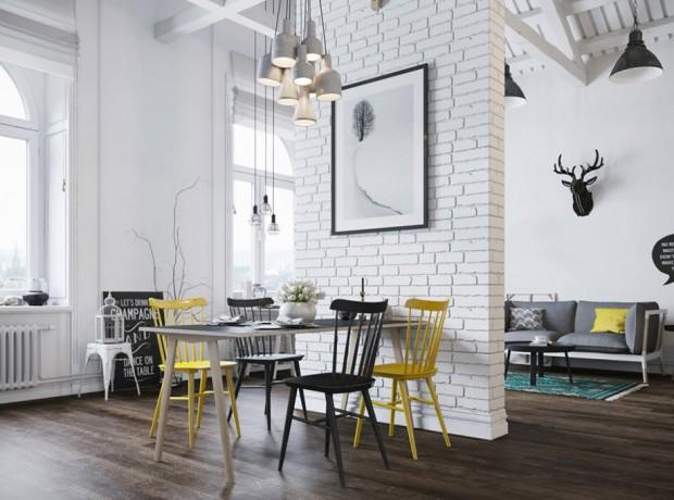 กำแพงแบ่งพื้นที่ใช้งานในบ้าน