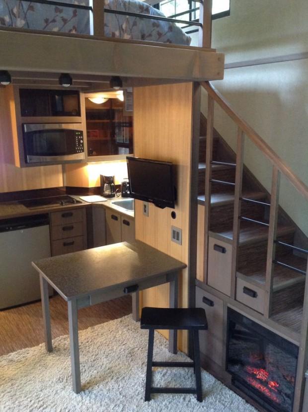 ห้องครัวเล็ก ๆ