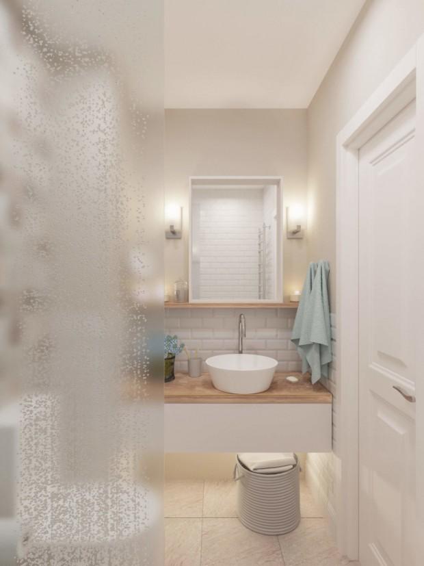ห้องน้ำโทนสว่างแบบ Scandinavian