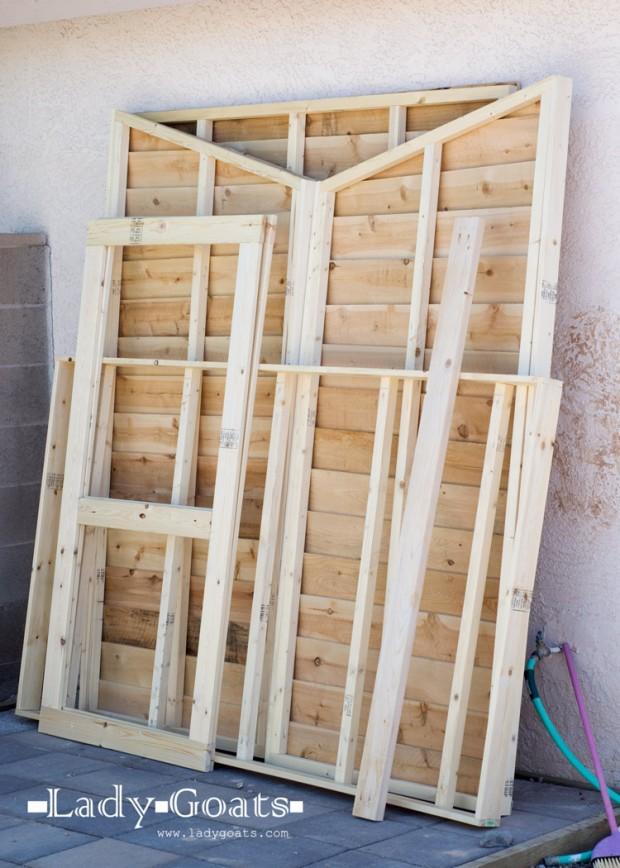 โครงและส่วนประกอบตู้
