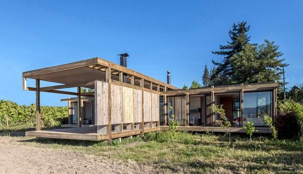บ้านโมเดิร์น facade ไม้