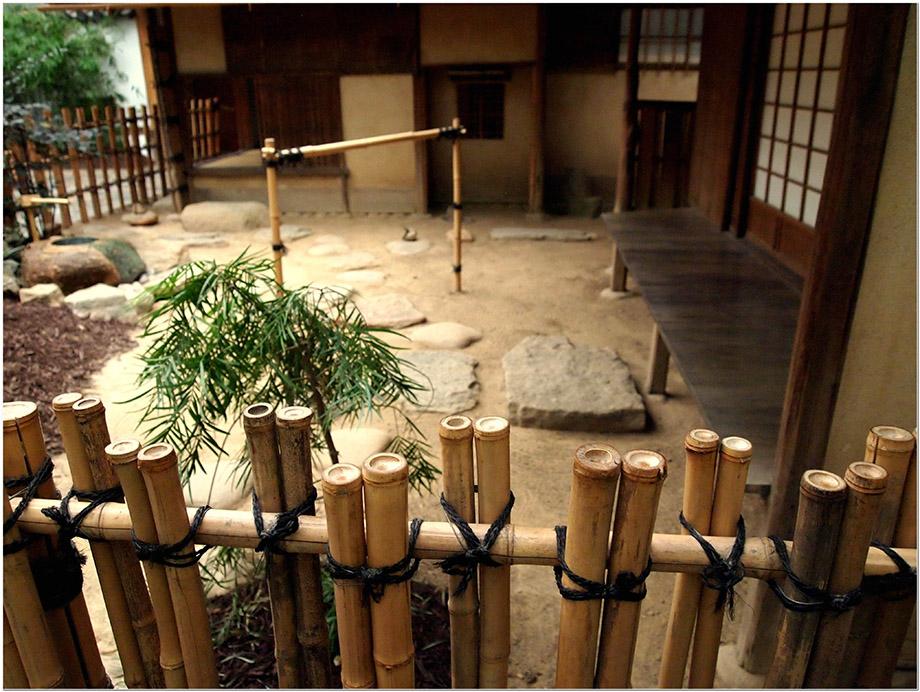 รั้วบ้านไม้ไผ่อารมณ์ญี่ปุ่น