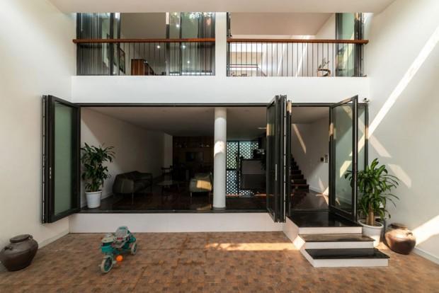 บ้านยั่งยืนด้วยธรรมชาติรอบบ้าน