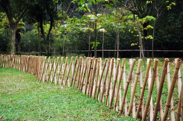ไอเดียทำรั้วจากไม้ไผ่