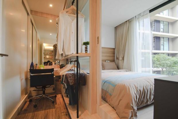 การจัดห้องนอนในคอนโดขนาดเล็ก