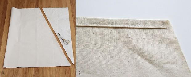 ตัดผ้าเตรียมทำชิงช้า