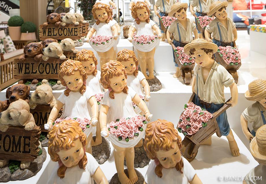 ตุ๊กตาจัดสวน Index Living Mall