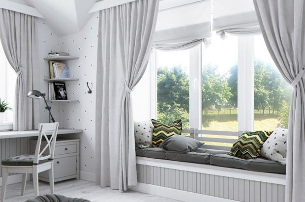 ห้องนอนเด็กบรรยากาศธรรมชาติ