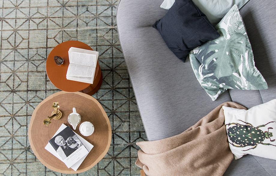 มุมนั่งพักผ่อนในบ้าน