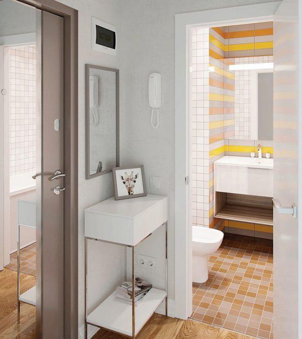 ตกแต่งห้องน้ำให้มีสีสันสดชื่น