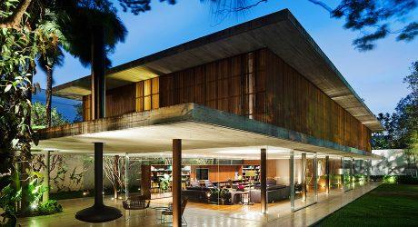บ้านสองชั้นโครงสร้างคอนกรีตสำเร็จรูป