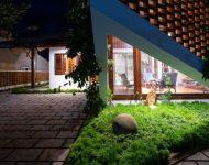 จัดแสงไฟให้สวนสวย