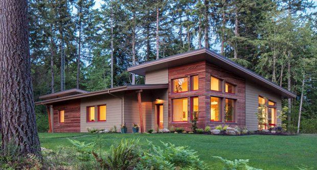 บ้านโมเดิร์นแต่งไม้