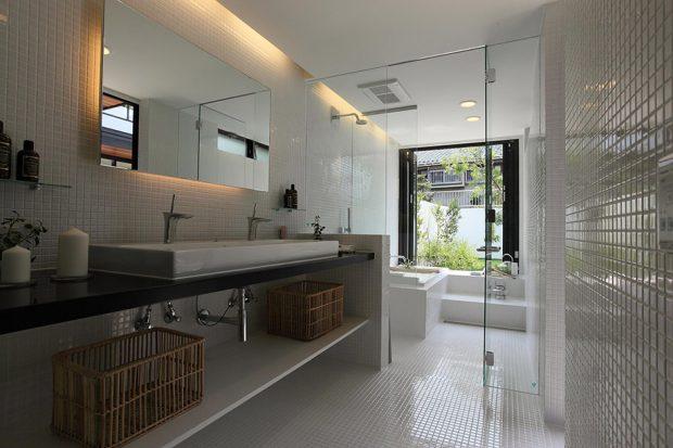 ห้องน้ำวิวสวน