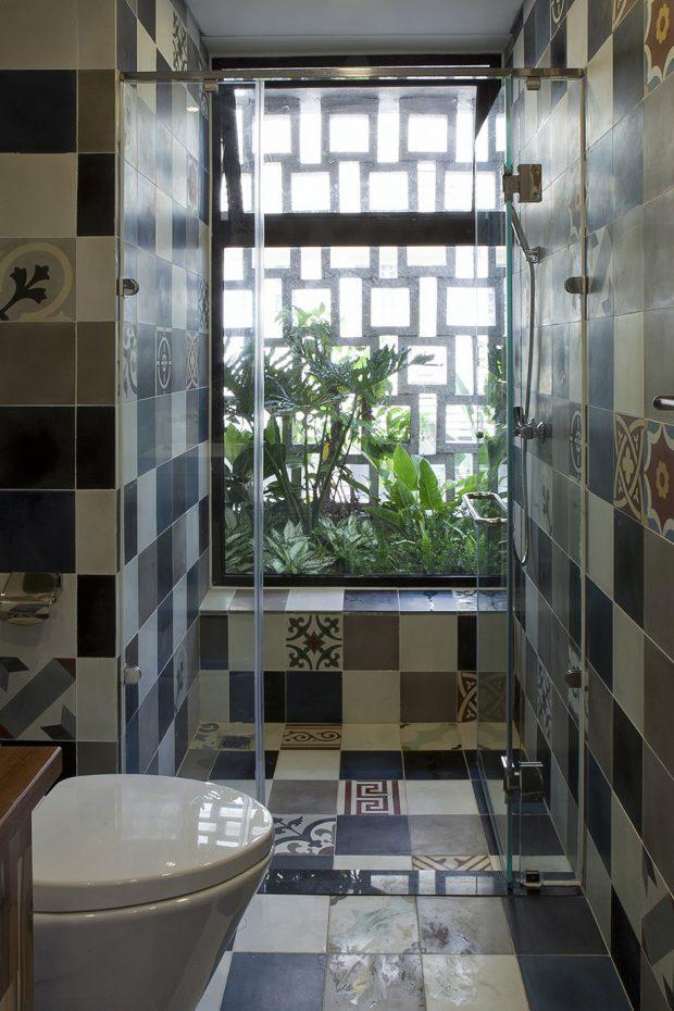 ห้องน้ำบรรยากาศธรรมชาติ