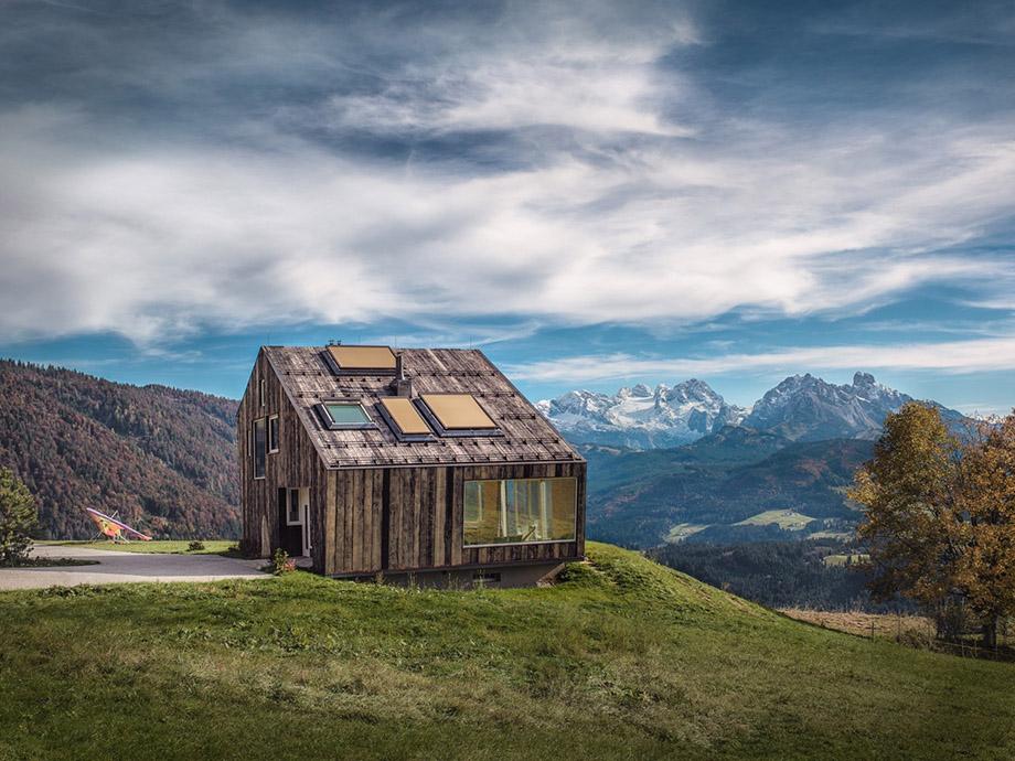 บ้านบนยอดเขาในออสเตรีย