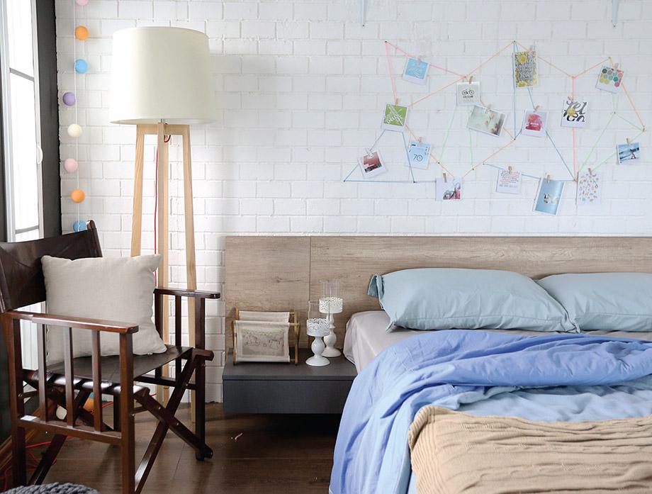 เตียงไม้รุ่น Onyx ขนาด 5 ฟุต