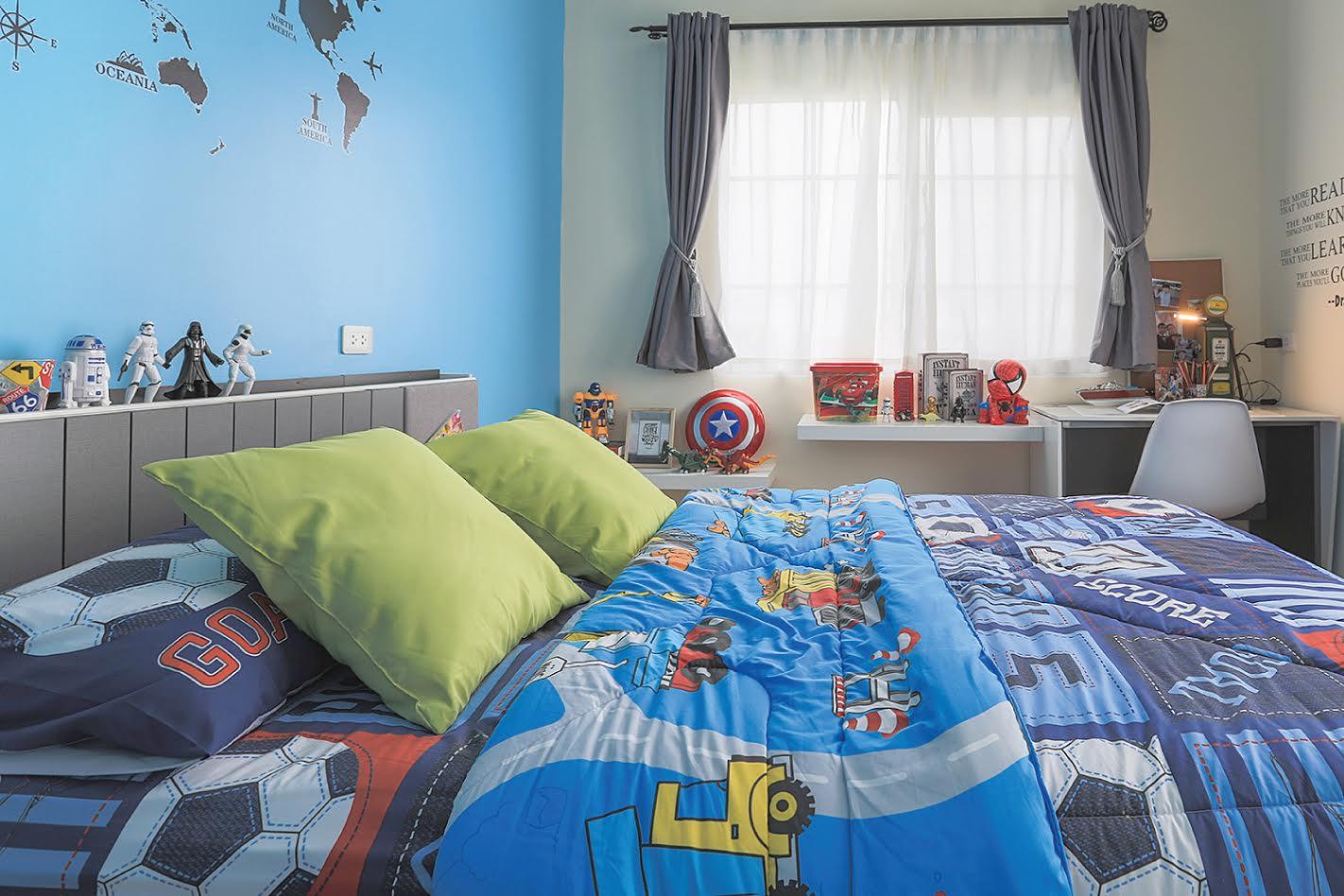 ห้องเด็กตกแต่งโดย SB Furniture