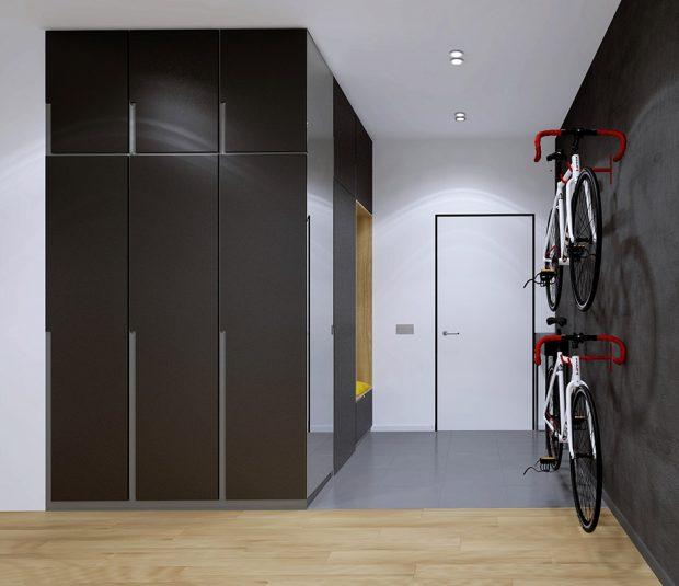 ตู้เก็บของและจักรยาน