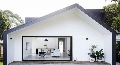 บ้านโมเดิร์นทูโทนสีขาว-ดำ