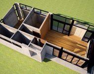 แบบร่างบ้าน 3D