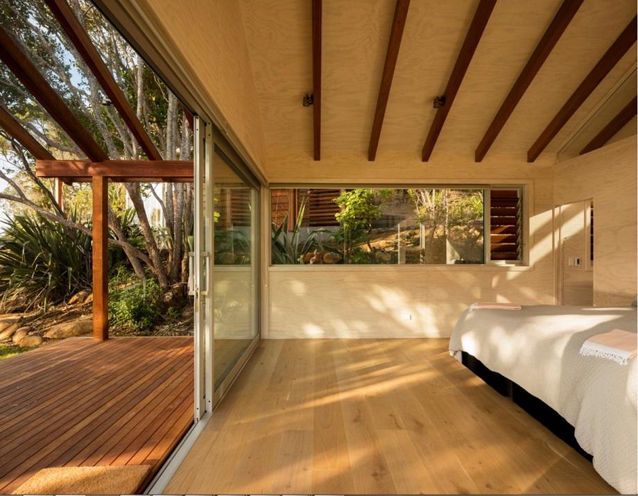 ห้องนอนในสวน
