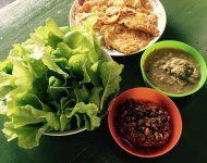 เมนูอาหารจากผักในสวนหลังบ้าน