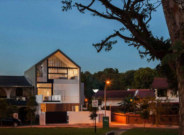 บ้านโมเดิร์นในสิงคโปร์